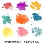 vector paint splash  | Shutterstock .eps vector #518495437