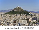 Mount Lycabettus In Athens ...