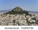 Mount Lycabettus In Athens ...