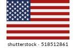 united states flag | Shutterstock .eps vector #518512861