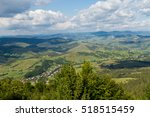 view of the carpathians... | Shutterstock . vector #518515459