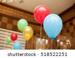 decoration with colorful balls... | Shutterstock . vector #518522251