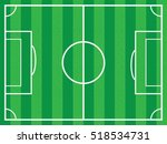 background soccer field | Shutterstock .eps vector #518534731