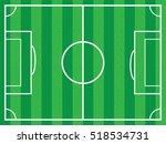 background soccer field   Shutterstock .eps vector #518534731