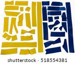 Collection Of Yellow And Blue...