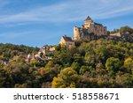 castle in the mountain... | Shutterstock . vector #518558671