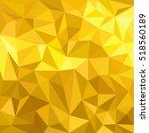golden abstract background.... | Shutterstock .eps vector #518560189