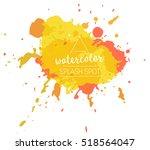 vector paint splash logo | Shutterstock .eps vector #518564047