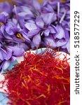 Plateful Of Separated Saffron...