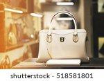 luxury handbag | Shutterstock . vector #518581801
