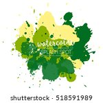 vector paint splash logo