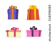 gift box vector collection