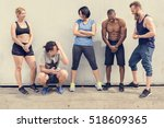 Small photo of Active People Sport Workout Concept