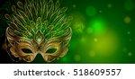 vector illustration. golden... | Shutterstock .eps vector #518609557