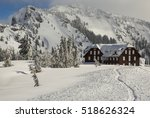 Crater Lake Lodge In Winter....