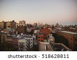 breathtaking new york city view ... | Shutterstock . vector #518628811