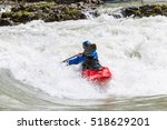 Kayaking. Rodeo White Water...