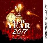 easy to edit vector... | Shutterstock .eps vector #518665699