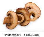 roasted sliced champignons with ...   Shutterstock . vector #518680801