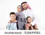 arab family on white background | Shutterstock . vector #518699581