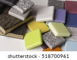 Stock photo sample acrylic artificial stone 518700961