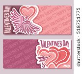 vector abstract banners for... | Shutterstock .eps vector #518721775