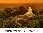 Buddha statue.Temple in Sri lanka.Buddha in Meditation.