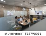 start up business people group... | Shutterstock . vector #518790091