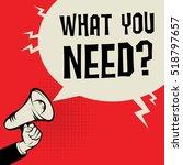 megaphone hand  business...   Shutterstock .eps vector #518797657