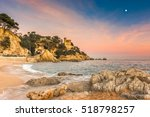Resort town of Lloret de Mar, set in the gorgeous rugged Costa Brava Coast north of Barcelona, Catalonia, Spain