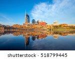 nashville  tennessee downtown...   Shutterstock . vector #518799445