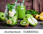 ingredients for  healthy... | Shutterstock . vector #518800561
