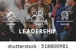 business collaboration teamwork ... | Shutterstock . vector #518800981