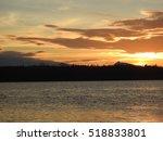 sunset at glacier bay national... | Shutterstock . vector #518833801