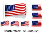 flag of united states of... | Shutterstock .eps vector #518836354