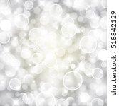 vector glittery lights silver... | Shutterstock .eps vector #518842129