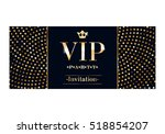 vip club party premium... | Shutterstock .eps vector #518854207