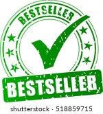 illustration of best seller... | Shutterstock .eps vector #518859715