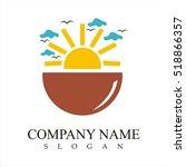 sunrise logo | Shutterstock .eps vector #518866357