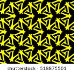 abstract geometric wallpaper.... | Shutterstock .eps vector #518875501