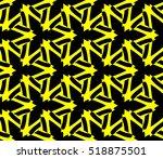 abstract geometric wallpaper.... | Shutterstock .eps vector #518875501