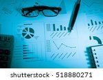 commodity digital data... | Shutterstock . vector #518880271