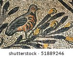 Ancient Roman Mosaic Of A...