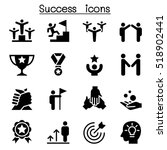 success icon set | Shutterstock .eps vector #518902441