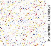 multicolored pattern balls on...   Shutterstock .eps vector #518905609