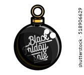 color vintage black friday sale ... | Shutterstock .eps vector #518906629