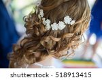 bridal hairstyle   Shutterstock . vector #518913415