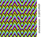 seamless pattern with tribal... | Shutterstock .eps vector #518914969