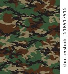 fashionable camouflage pattern  ... | Shutterstock .eps vector #518917915