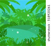 vector image of the jungle flat ... | Shutterstock .eps vector #518920261